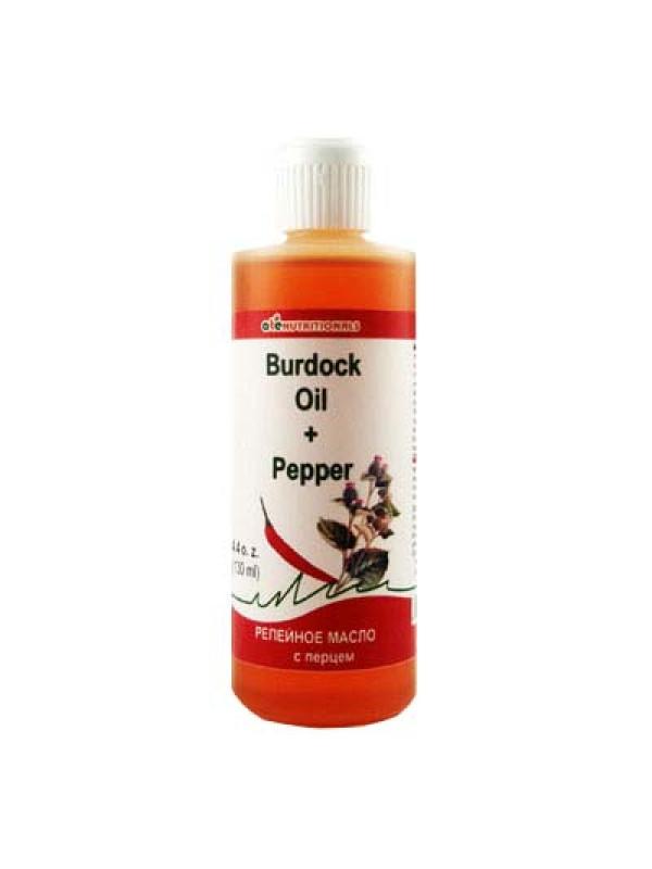 Burdock Oil with Pepper 130ml