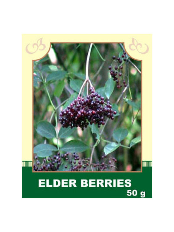 Elder Berries 50g