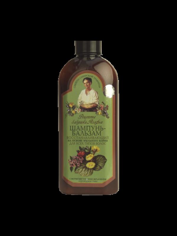 Recipes of grandmother Agafi. Shampoo-balm restoring.