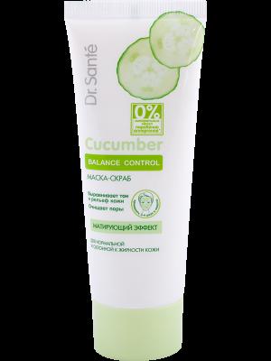 Dr.Sante -Cucumber Balance Control - Mask & Scrub