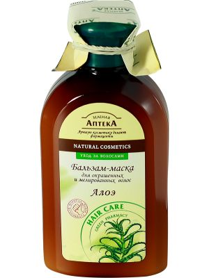 Green Pharmacy - Balsam-Mask Aloe.  For colored and tinted hair