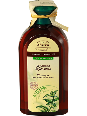 Green Pharmacy - Shampoo for normal hair. Nettle