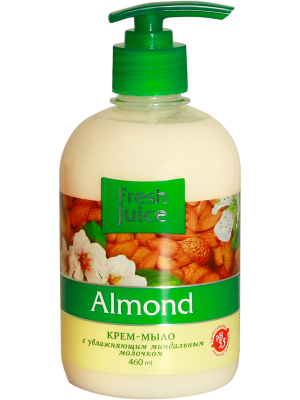 Fresh Juice Cream-soap - Almond