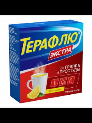 TheraFlu extra flu and cold powder, 10 sachets