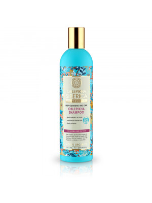 ACTIVE ORGANICS Sea Buckthorn Shampoo for Normal and Oily Hair Deep Cleansing and Care, 13.52 oz/ 400 Ml