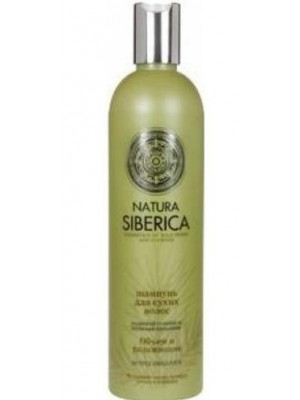 "NATURAL & ORGANIC Hair Shampoo ""Volume & Moisturizing"" for Dry Hair with Siberian Pine and Rosehip, 10.14 oz/ 300 Ml"