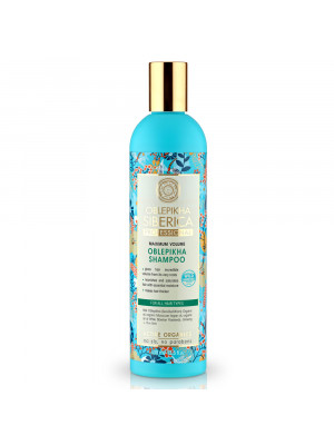 ACTIVE ORGANICS Sea Buckthorn Shampoo for All Hair Types Maximum Volume, 13.52 oz/ 400 Ml