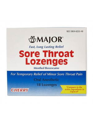 Major Sore Throat Logenzes