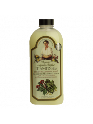Recipes of grandmother Agafi. Shampoo recovering.