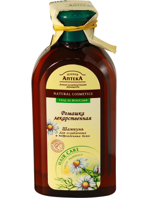 Green Pharmacy - Shampoo for weak and damaged hair. Chamomile