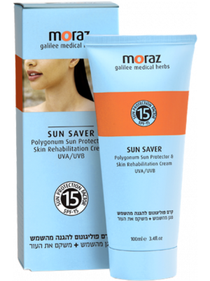 Moraz - Sun Saver - Polygonum Sun Protector & Skin Cream UVA/UVB - SPF-15%