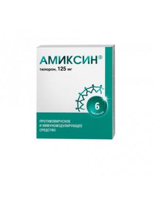 Amixin tablets of 125 mg of 6 pcs