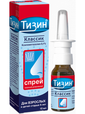 TIZIN CLASSIC SPRAY 0.1% 10ML