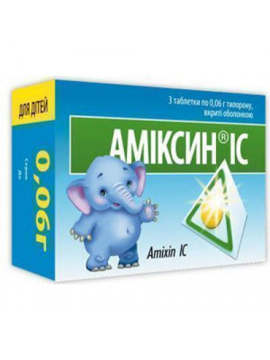 Amixin for kids IC 0.06 g tablets, 6 pcs.