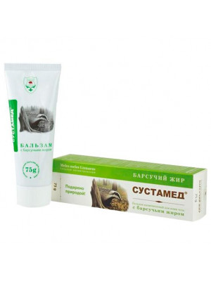 SUSTAMED BIOBALM FOR JOINTS WITH BADGER FAT75ML