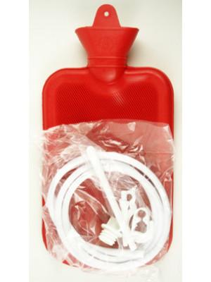 Rubber Hot-Water Bottle & Enema 2L