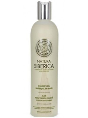 "NATURAL & ORGANIC Hair Shampoo ""Neutral"" for Sensitive scalp with Series and Licorice, 13.52 oz/ 400 Ml"