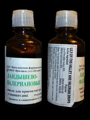Капли Ландышево-Валерьяновые